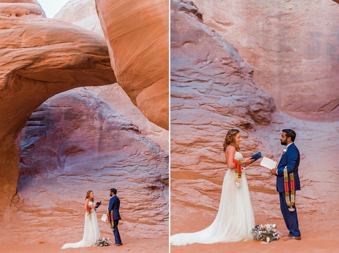 Kayton & Amanda | Moab Elopement at Arches National Park