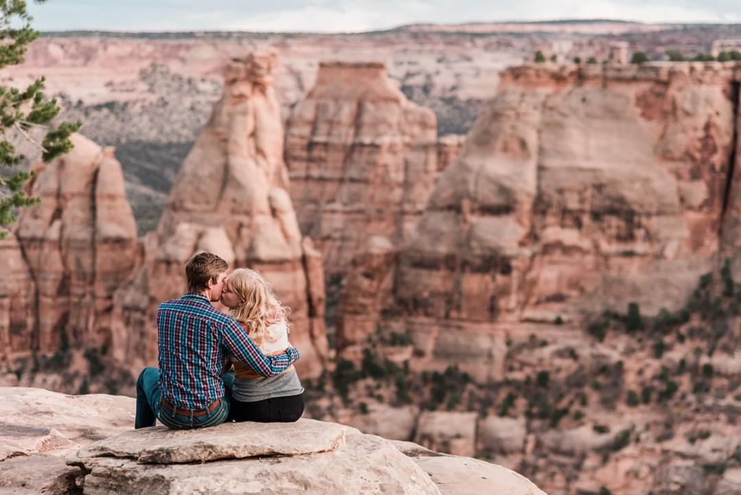 Emily & Alex | Post-Wedding Photos on the Monument