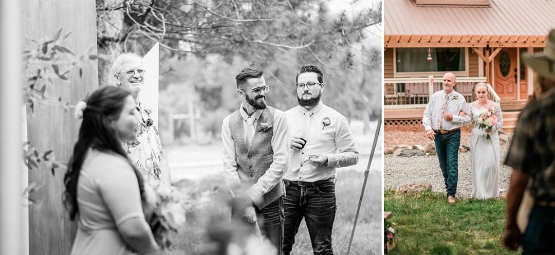 Addison & Chris | VRBO wedding on the Grand Mesa