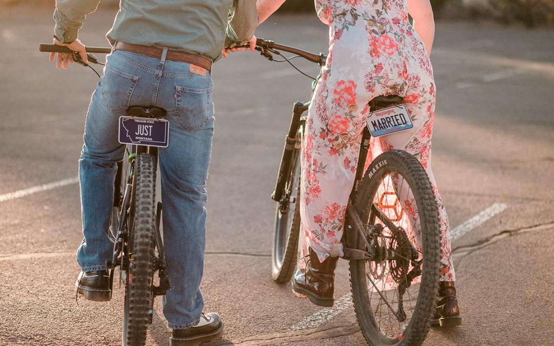 Abby & Craig | Mountain Biking Elopement