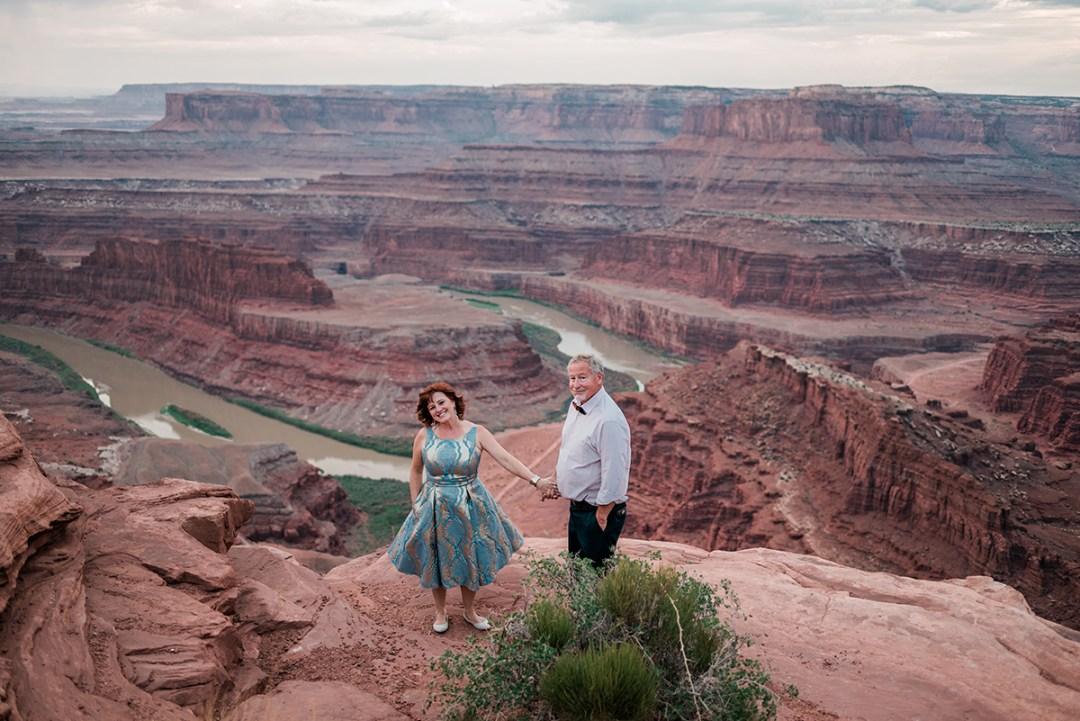 Julie & Bobby | Moab Elopement at Dead Horse Point