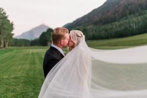 Tyler & Taylor   Aspen Wedding at T-Lazy-7 Ranch