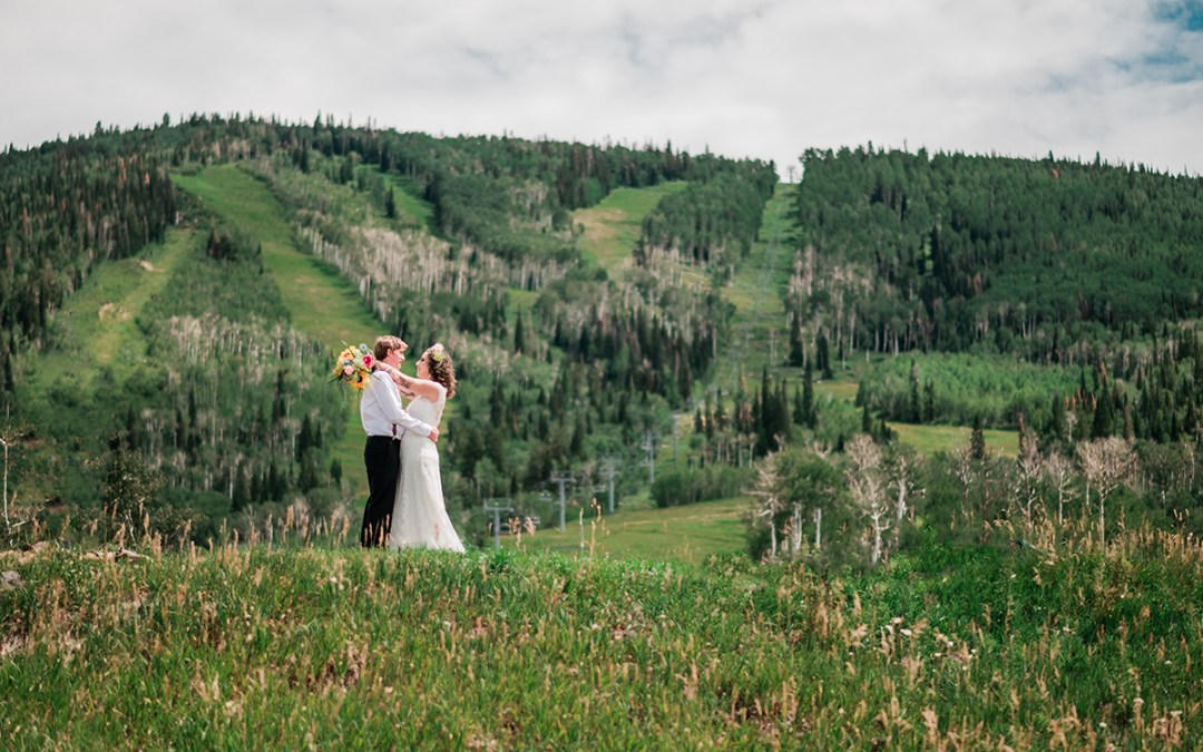 Sam & Kaitlyn | Powderhorn Ski Resort Wedding