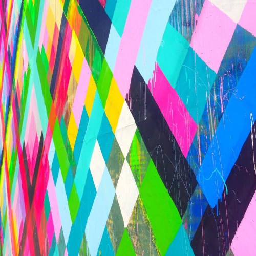 Musings on Color in the Concrete Jungle by Amanda Michele Art