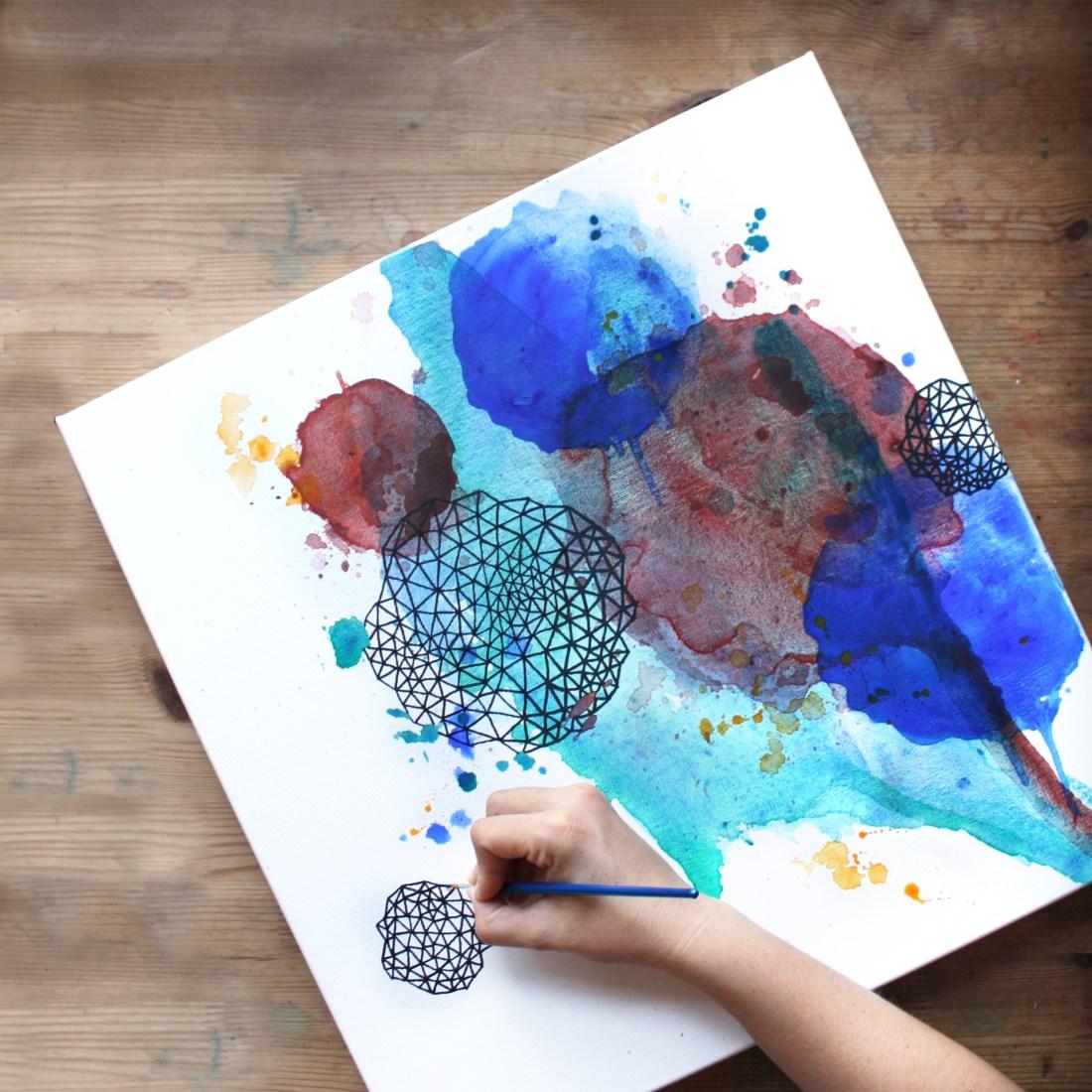 August Monthly Art Challenge / Amanda Michele Art