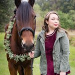 Equestrian Christmas Styled Session Parrish Florida Amanda Mueller Photography