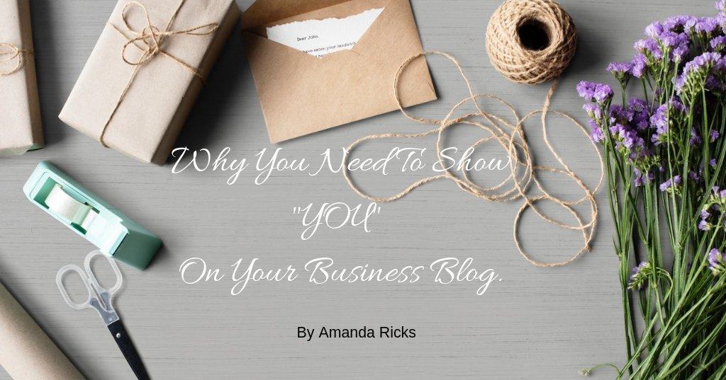 show you on your blog by amandaricks.com