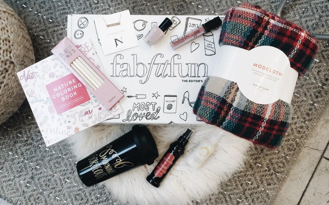 A Box of Goodness with FabFitFun