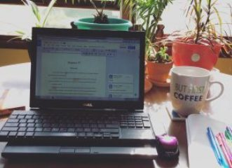 write 365: day 2- work space