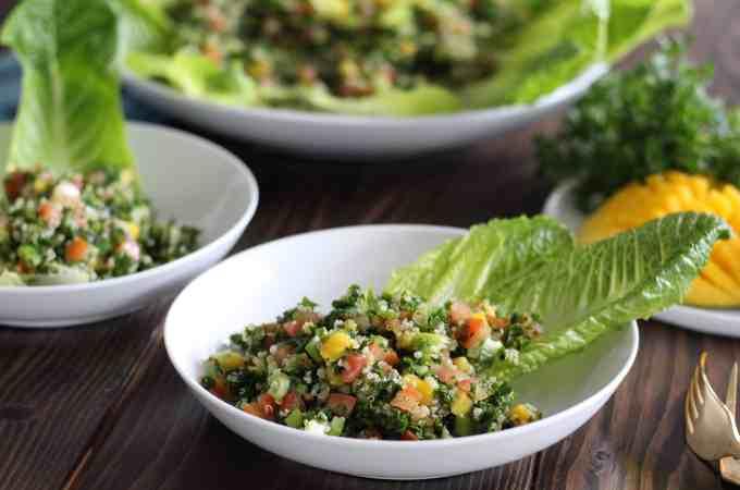 Mango Quinoa Tabbouleh