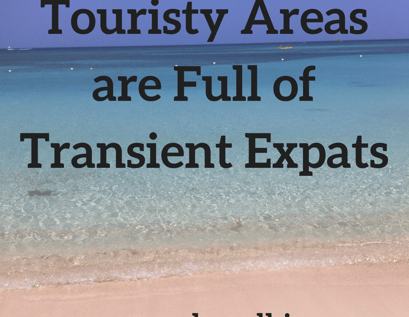 transience in tourism-dominated areas
