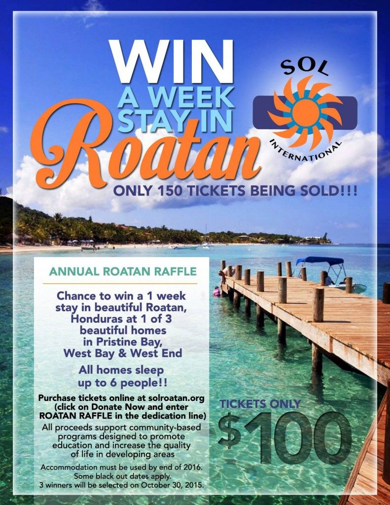 win a week stay in Roatan