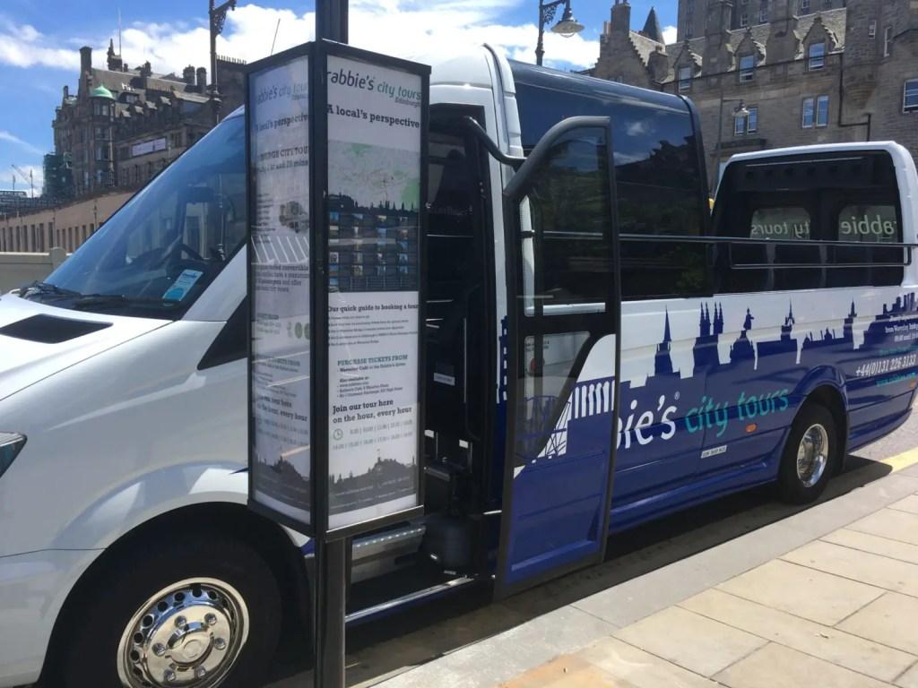 Rabbies Edinburgh City Tour