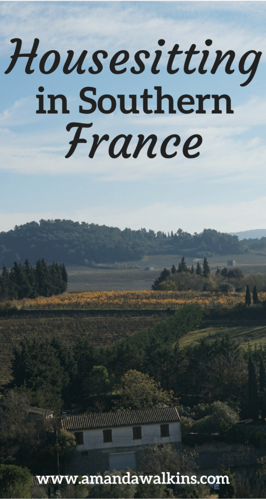 I stayed in a beautiful home in Southern France for a week...for free! All because of housesitting (and cat-sitting!)