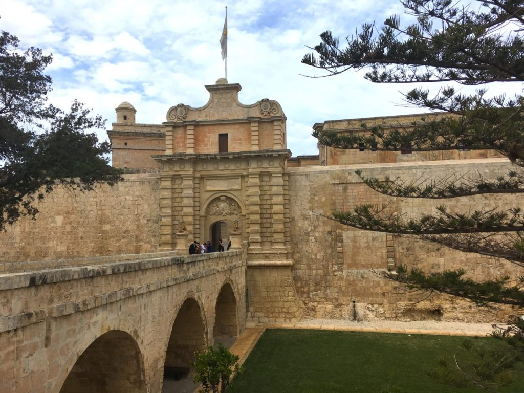 fortified city in Malta