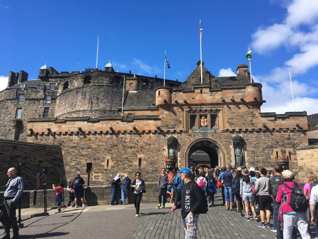 Edinburgh Castle entry