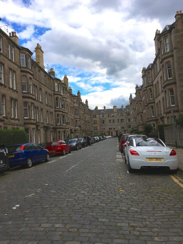 architecture in Edinburgh