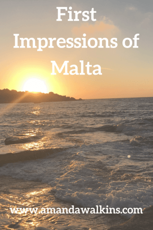 Our first impressions of Malta as new expats on the island
