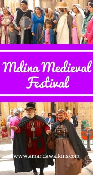 The Annual Mdina Medieval Festival in Malta