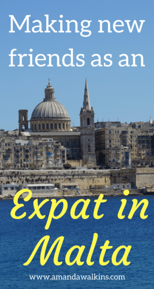 Making new friends as an expat in Malta is as easy as just reaching out to someone online and asking to hang out.
