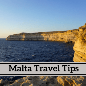Malta travel tips from an expat in Malta