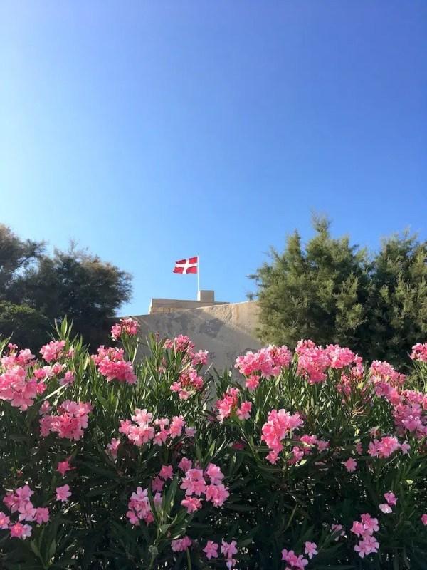 Walking around Qawra point in Malta