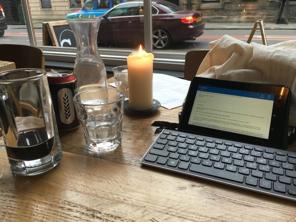 Working remotely means you can work from anywhere