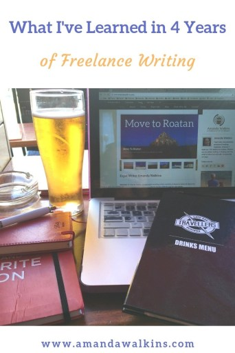 With four years of freelance writing under her belt, American expat blogger Amanda Walkins shares what she's learned so far.