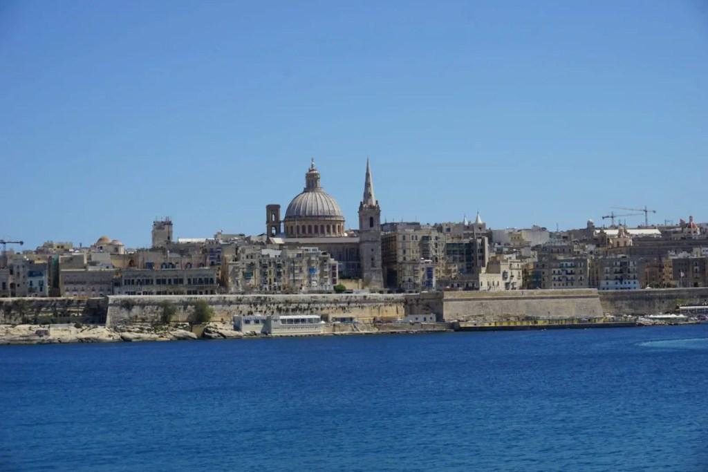 Valletta Malta city view