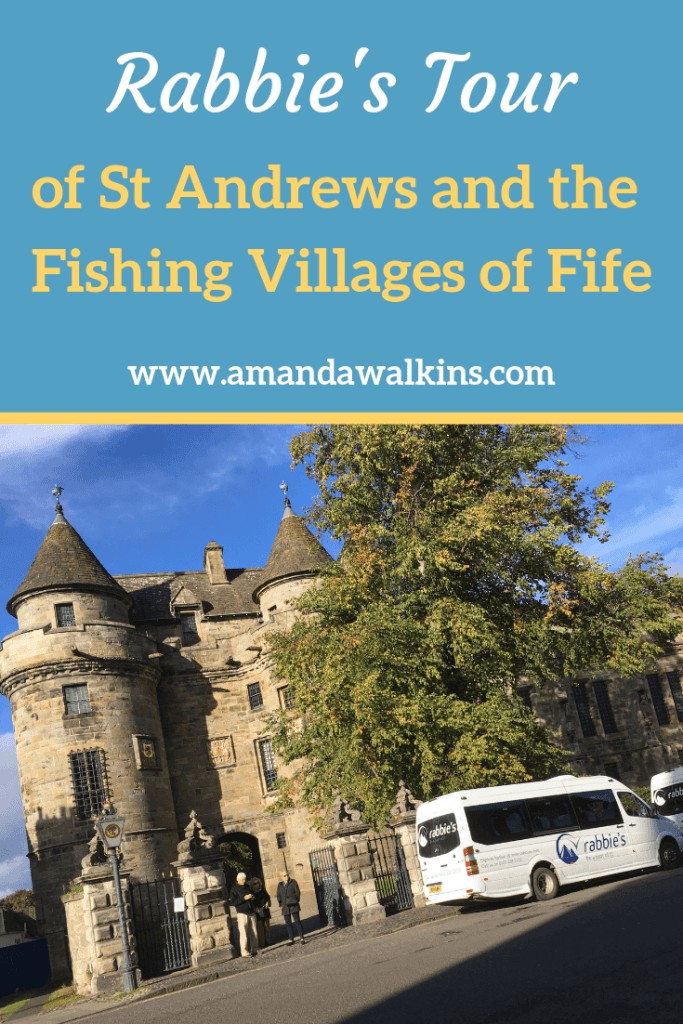 Rabbies tour of St Andrews and the Fishing Villages of Fife