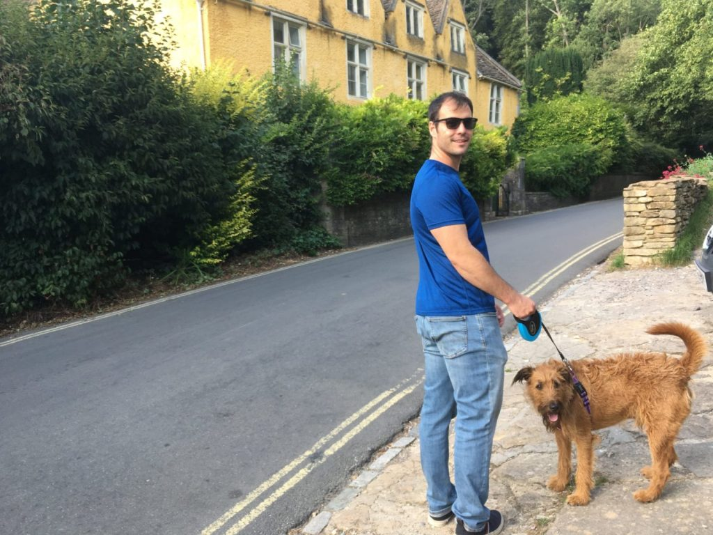 Jonathan Clarkin petsitting and housesitting in London