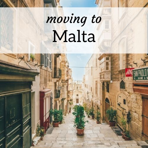 square header image for moving to Malta as an expat