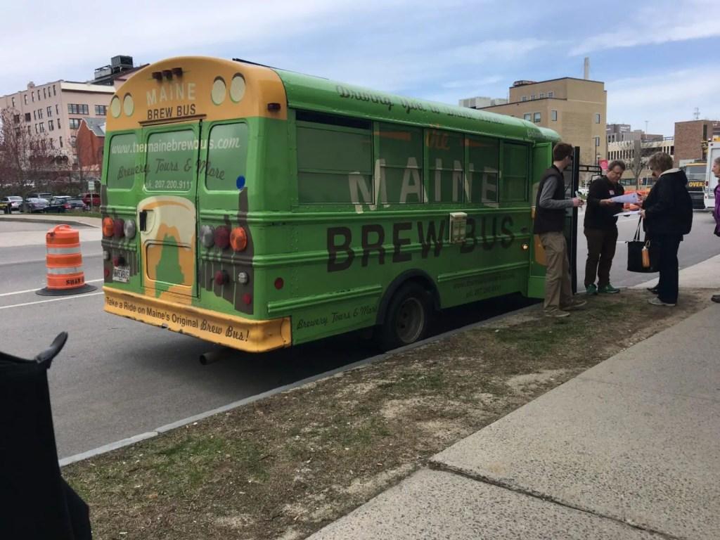 Maine Brew Bus in Portland