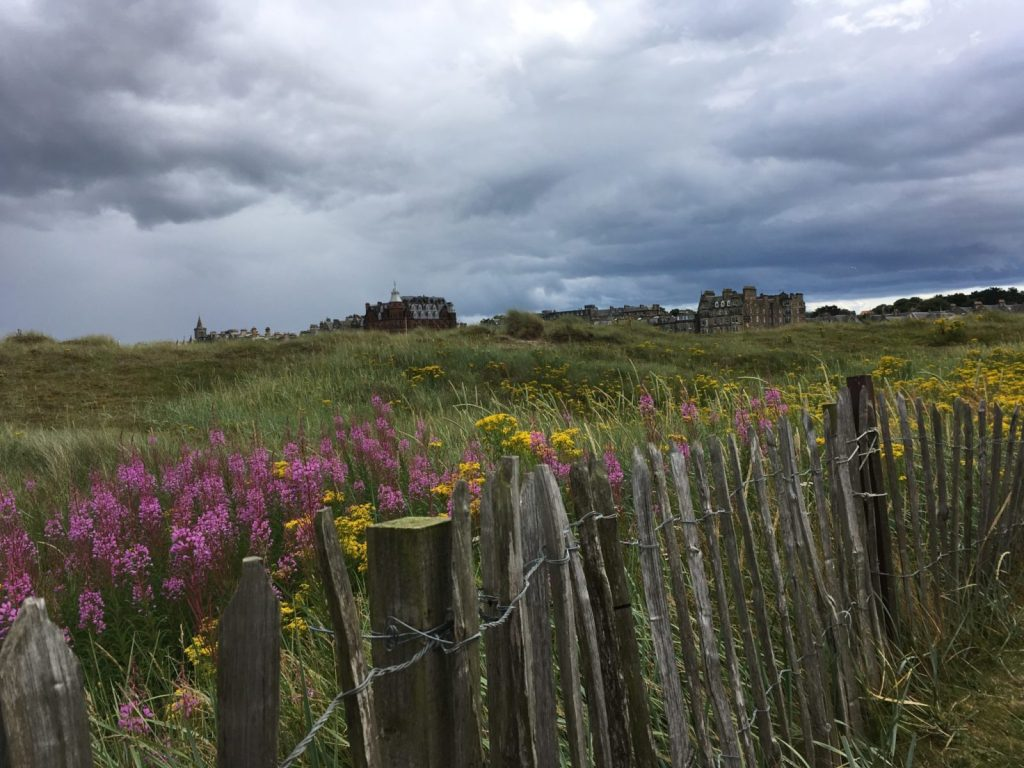 St Andrews beaches and dunes on a day trip from Edinburgh