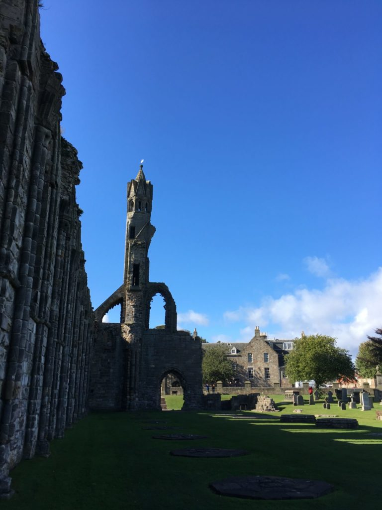 St Andrews Cathedral day trip from Edinburgh