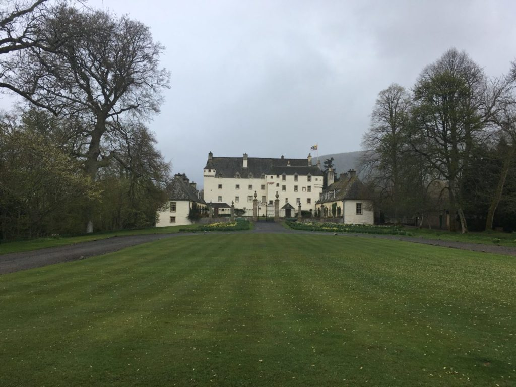 Traquair House in the Borders of Scotland