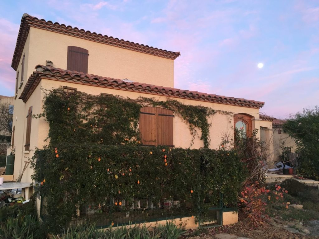 home in Southern France for house sitting