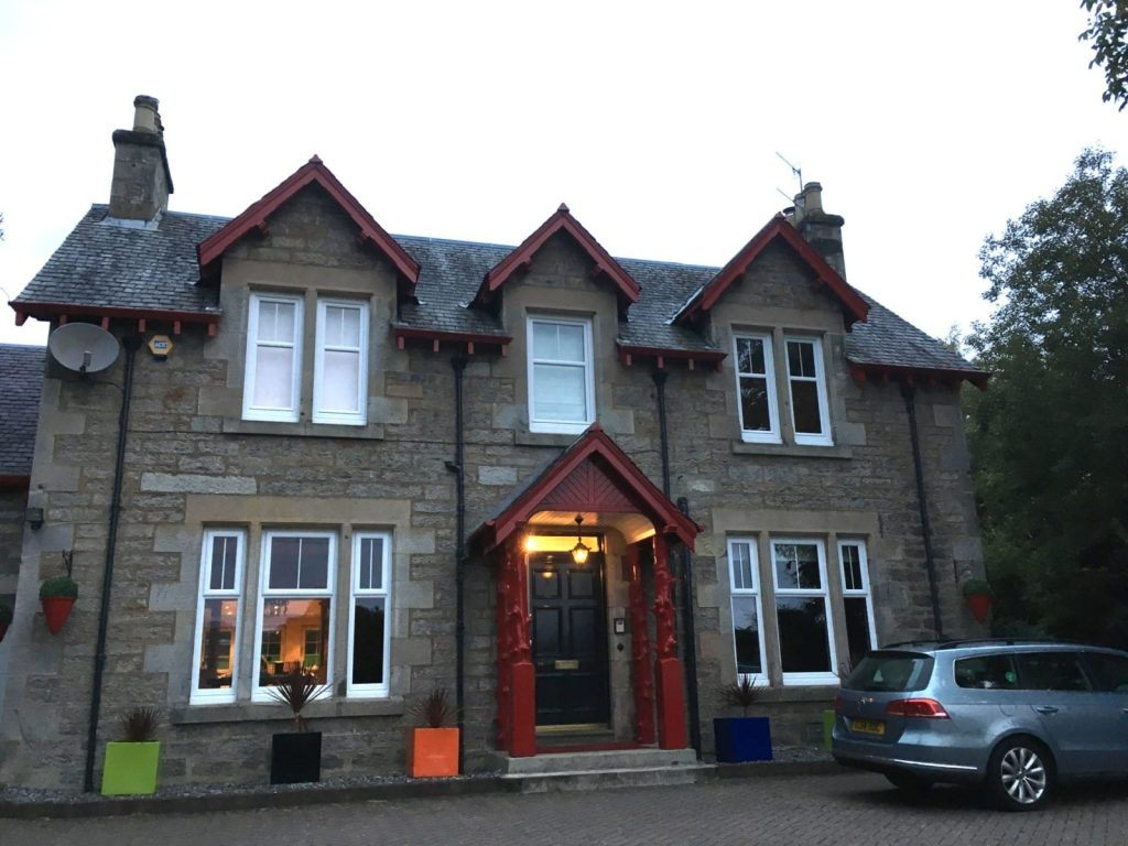Pitlochry hotels and b&bs are plentiful, like this one