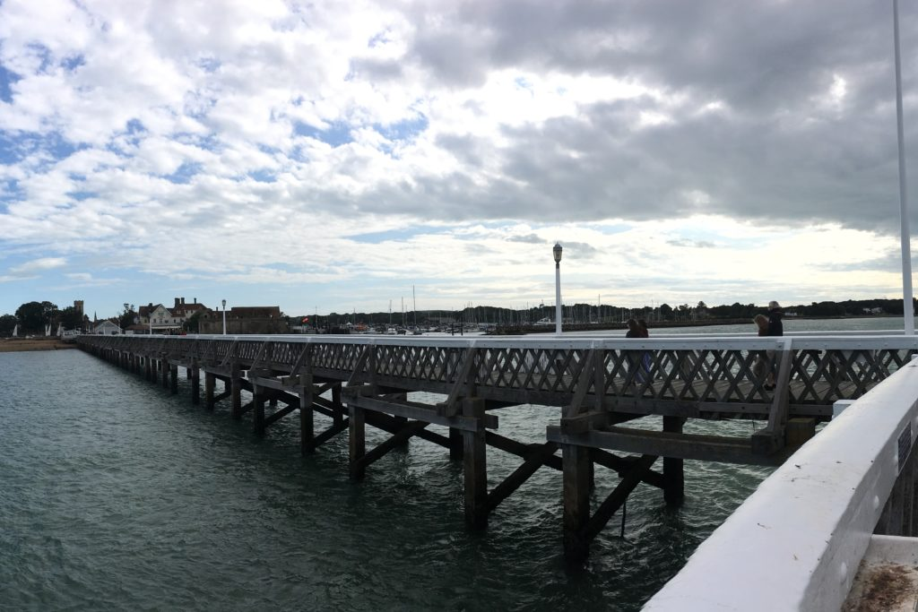 Yarmouth Harbour Pier IOW