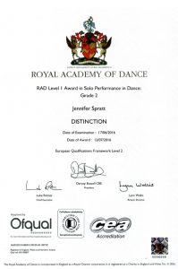 Examinations ~ Amanda Warwick Dance Arts