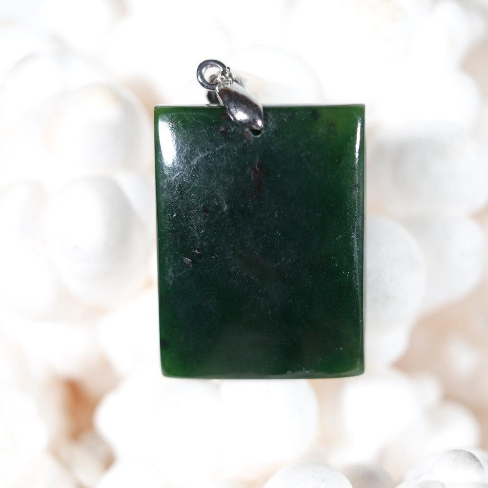 Modèle 3, pendentif en jade néphrite