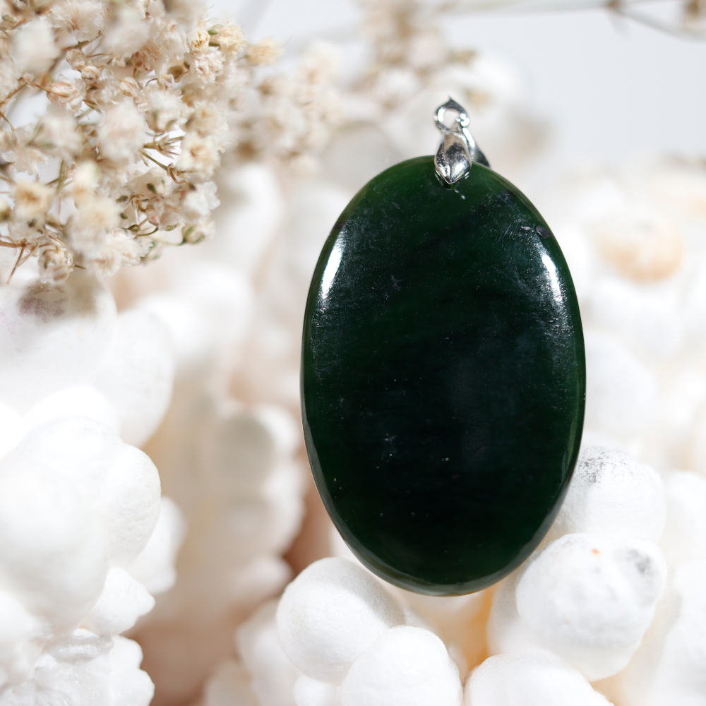 Pendentif en jade néphrite