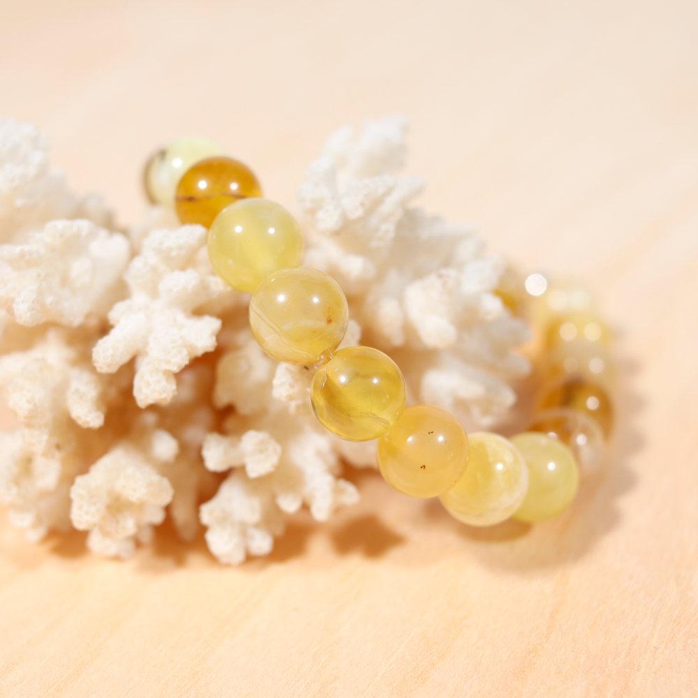 Bracelet en opale jaune