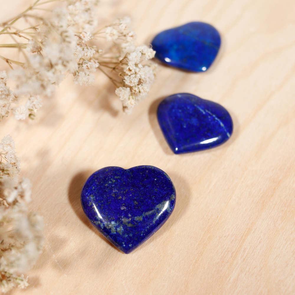 Cœur de lapis-lazuli