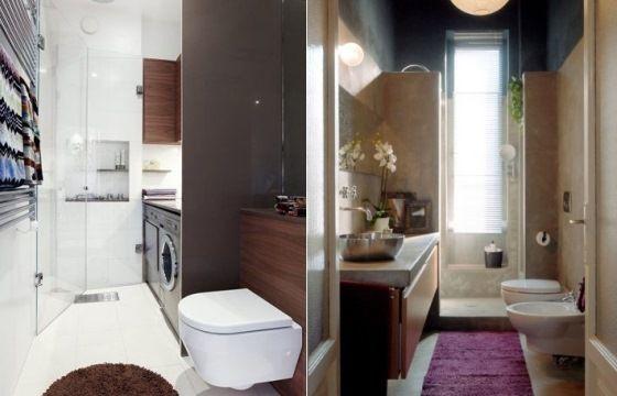 Come arredare il bagno piccolo e stretto consigli utili
