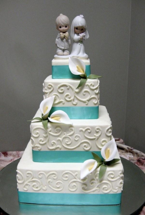 Foto Torte nuziali cake topper Spiritosi