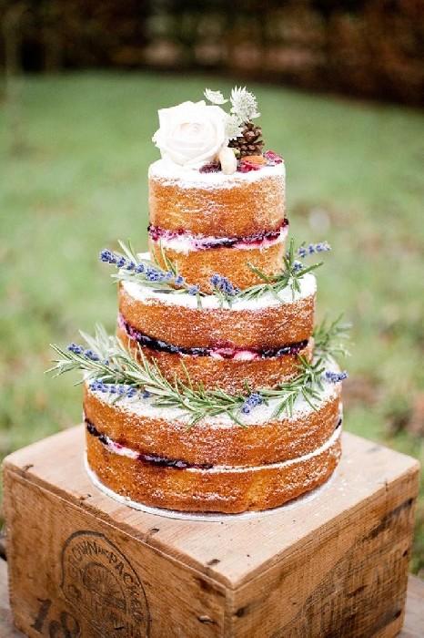 Foto Torte nuziali forma Naked cake