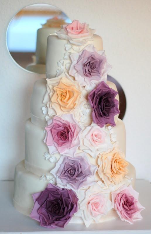 Foto Torte nuziali forma Rotonda