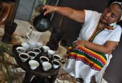 La ceremonia del café en Etiopía