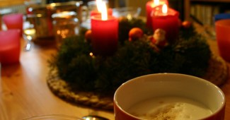 café para navidad